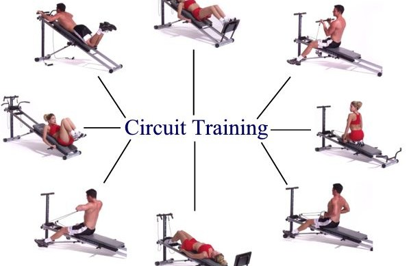 Circuit Training Exercises | The Work It Circuit
